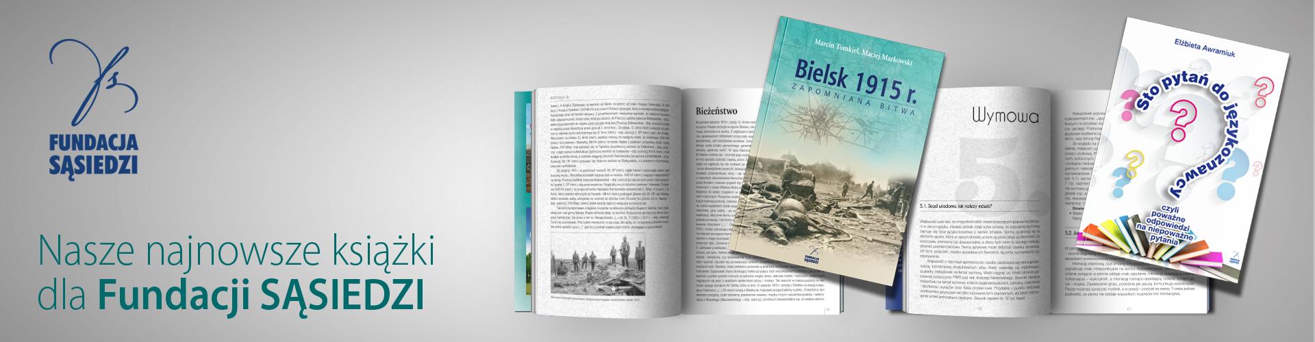 Nowe książki dla Fundacji SĄSIEDZI